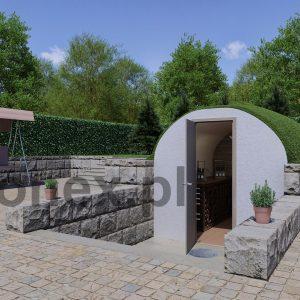 piwniczka widok z boku betonex